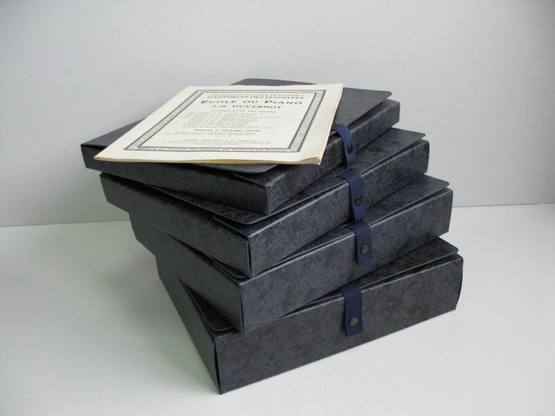 Cartonnagexpress bo tes partitions et archives - Boites archives design ...