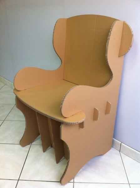 cartonnagexpress meubles en carton ondul. Black Bedroom Furniture Sets. Home Design Ideas